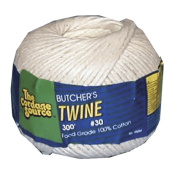 The Cordage Source 1137 Cotton Butcher\'s Twine, #16 x 370\', Natural