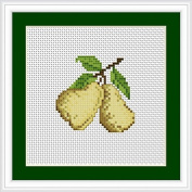 Luca-S Counted Cross Stitch Kit Pears