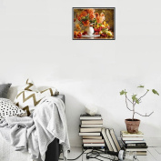 DIY Wall Sticker - 5D Embroidery Small Paintings Rhinestone Pasted Diamond Painting Cross Stitch Living Room Office Decor