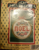 "Traditions Cross Stitch ""Noel"" including Frame"