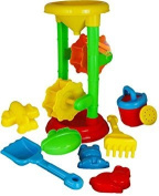 Trendi® Kids Sand and Water Mill Play Set for the Sandpit, Beach and Garden Toy Moulds