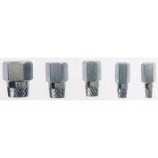 General 1395 Iron Pipe Nipple Extractor Set 5-Piece Set