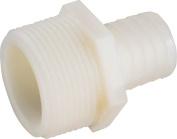 Anderson 53701-1012 Reducing Hose Adapter, 1.9cm X 1.6cm , MIP X Barb, Nylon