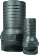 Green Leaf CN 125 P Heavy Duty Combination Nipple, 2.5cm - 0.6cm , NPT X Barb, Polypropylene
