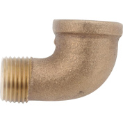90 degrees Red Brass Threaded Street Elbow