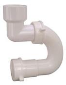 DURAPRO PLASTIC SINK TRAP, 3.8cm . SLIP JOINT OUTLET, 3.8cm . SOLVENT WELD