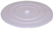 LAVELLE FLAT SUCTION STOPPER FOR BASINS AND BATHTUBS, 11cm ., WHITE