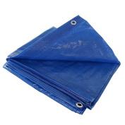 10 X 10 Blue Tarp Cover Patio Canopy Shade Yard 10x10