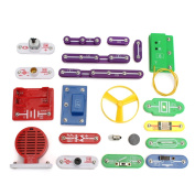 CoCocina W-335 Snap Circuit Electronics Discovery Kit Science Educational Toy