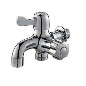 SHENCHI 13.5*10*10 Brass Chrome cold water Sink Faucet
