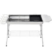 Folding Barbecue Grill Thickened Stainless Steel Grill Stainless Steel Grill Wholesale Grill Thick Grill
