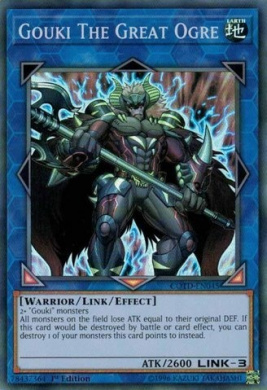 Gouki The Great Ogre - COTD-EN045 - Super Rare - 1st Edition - Code of the Duelist (1st Edition)