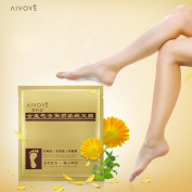 CieKen 1Pair Exfoliating Peel Foot Mask Baby Soft Feet Remove Callus Hard Dead Skin, Baby Foot Exfoliate Peel Based on Natural Extracts