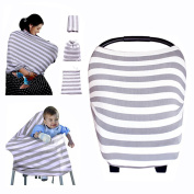 Kyapoo Baby Nursing Breastfeeding Cover Multi-Use Flexible Unisex Super Soft 100% Organic Cotton