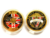 D-Day 70th Anniversary Coin WW2 World War 2 VICTORY in EUROPE