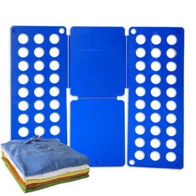 Tekbox Adult Childrens Clothes Folder T Shirts Jumpers Organiser For Laundry Storage Suitcase