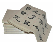 Chinese Calligraphy Practise Paper Pad Semi-treated Xuan Paper 100 Sheets 7.5cm