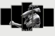 5 PCS Framed Michael Jordan's Motivation Canvas Painting/Prints - 5 PCS Framed Canvas