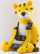 Berhapy 2 in 1 Tiger Toddler Safety Harness Backpack Children's Walking Leash Strap