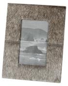 Grey Faux Pony Frame