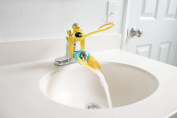 Aqueduck Faucet Handle Extender Set. Connects to Sink Handle and Faucet to Make Washing Hands Fun and Teaches Your Baby or Child Good Habits and Promote Independence to them.
