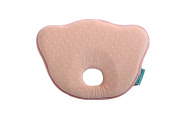 TRAVEL AID NEWBORN BABY PILLOW HEAD SHAPING SOFT MEMORY FOAM FOR INFANT COMFORT SLEEPING & TO PREVENT FLAT HEAD