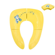 Lightweight Folding Travel Potty Seat for Kid with Carry Bag, Portable Toddlers Potty Seat
