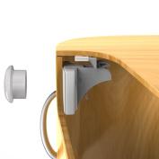 Child Safety Magnetic Cabinet Locks - 8 Locks +2 Keys 2 Ways of Fixing