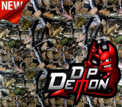 Mini Camo Great For Small Items Pistols Yeti Cups Etc. Hydrographic Water Transfer Film Hydro Dipping Dip Demon Wizard Ape