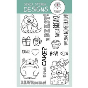 Monster Fun Clear Stamp Set 10cm x 15cm