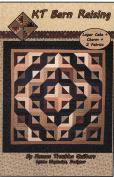 KT Barn Raising Quilt Pattern, Layer Cake 25cm Squares & Charm Pack 13cm Squares Friendly