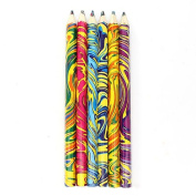 6P Blended Colouring Coloured Pencils
