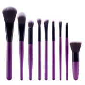 Beauty Top 9Pcs Cosmetic Brush Makeup Brush Sets Kits Tools