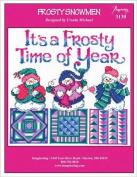 Frosty Snowmen (Chart 3130) Cross Stitch Chart and Free Embellishment