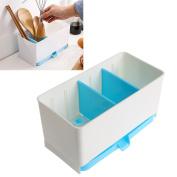 GaoCold Holder Rack Basket Sponge Wash Dry Shelf Cutlery Drainer Sink Tidy Utensils