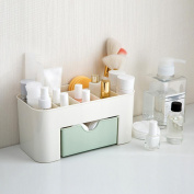 Voberry Saving Space Desktop Cosmetic Storage Makeup Organiser Drawer Holder