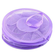 Haotfire Mesh Hanging Storage, Multifunctional 3 Compartments Portable Folding Kids Toy Basket Organiser Clothes Dryer Net