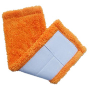 Tharv Mop Head Replacement Transer Reusable Coral Velet Pad For Mop Cleaning Pads Size