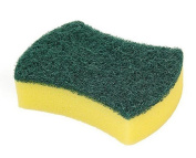 13pcs Green Multi-Use Wipe Sponge Cleaning Tools Scrub Scruber Sponge Biodegradable & Eco Friendly Viscose Sponges Heavy Duty Household Cleaner Burnisher For Home Kitchen Use
