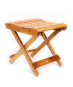 WUFENG Bamboo Folding Stool Portable Outdoors Mazar Fishing Chair Small Bench Home Small Square Stool