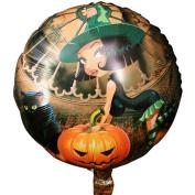 Sexyp 10PCS Halloween Pumpkin Halloween 46cm Aluminium Film Balloon Party Balls Classic toys gift