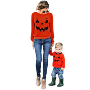 Happy Halloween, Mchoice Halloween Family Clothes Mother Parent-Child T-shirt Tops Blouse Matching Outfit