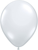 28cm Party Style Sheer Clear Helium Balloons