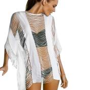 Diamondo Women Lace Crochet Swimsuit Bikini Cover up Swimwear Bathing Suit Summer Beach Dress