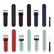 Replacement Smart Wrist Watch Accessory Band Strap for Garmin Forerunner 230/ 235/ 620/ 630/ 735XT, One Size