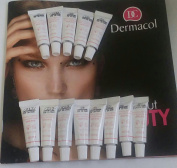 Dermacol 13 pcs ( set ) sample size make up cover Hypoallergenic all skin types 207, 208, 209 , 210 ,211 ,212 , 213, 215, 218, 221, 222, 223, 224