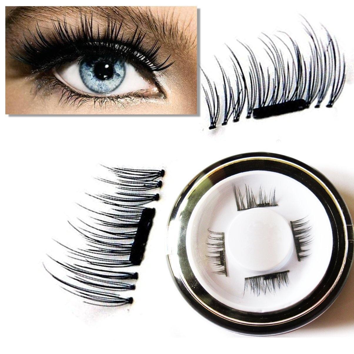 8x Magnetic Eyelashes No Glue Premium Quality False Eyelashes Set
