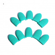 Alonea 10PCS Silica gel Nail Soak Off UV Gel Art Polish Remover Wrap Cap