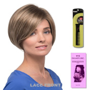 Ria by Estetica, Wig Galaxy Hair Loss Booklet & Magic Wig Styling Comb/Metal Pick Combo (Bundle - 3 Items)