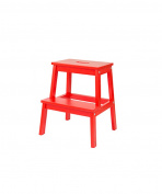 ZEMIN Portable Ladder Chair Stool Campstool Wood, 4 Colours Available, 45*45*50CM